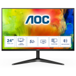 """AOC Basic-line 24B1H computer monitor 61 cm (24"""") 1920 x 1080 pixels Full HD LED Black"""