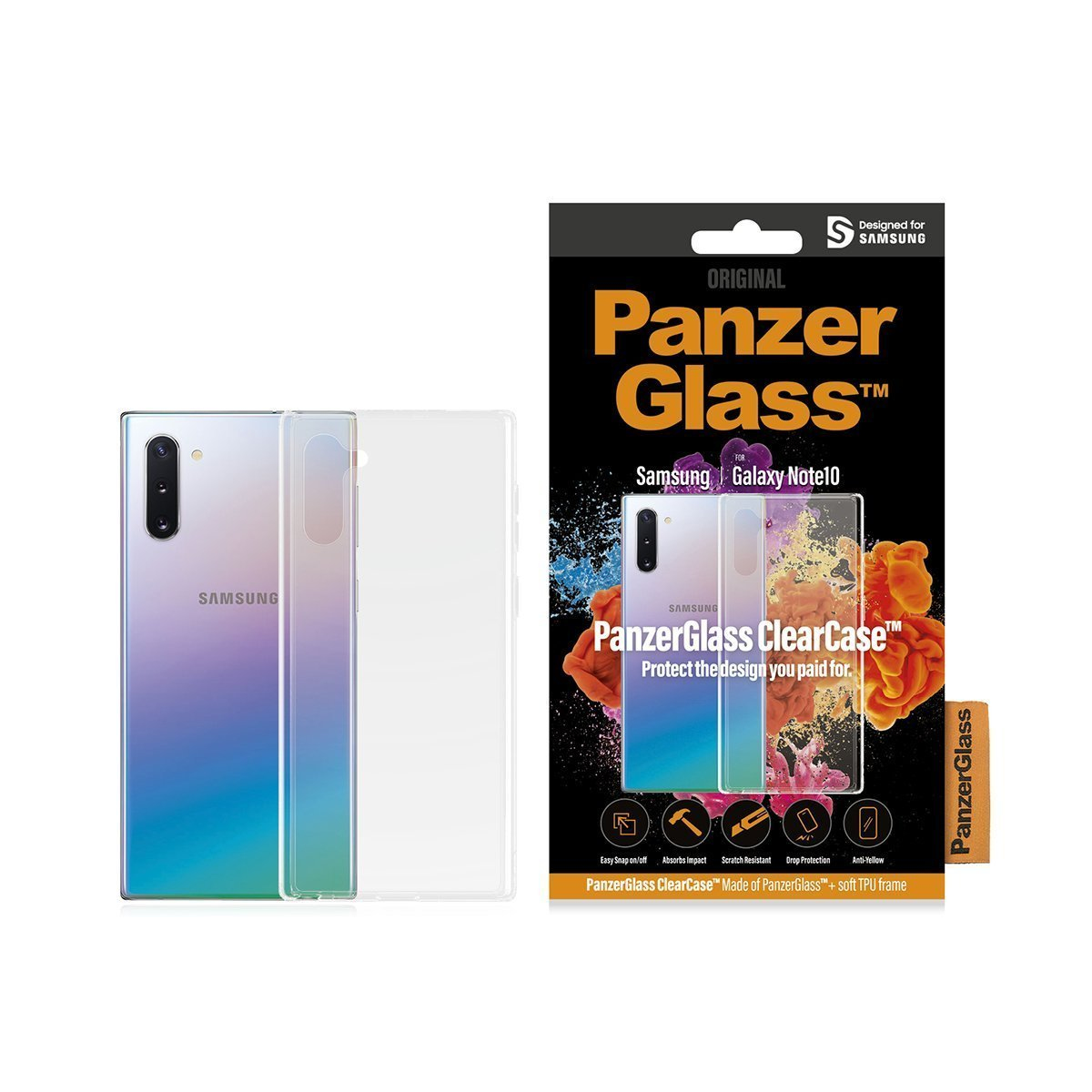CLEARCASE F/ SAMSUNG GALAXY NOTE10