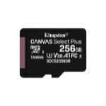 Kingston Technology Canvas Select Plus flashgeheugen 256 GB MicroSDXC Klasse 10 UHS-I