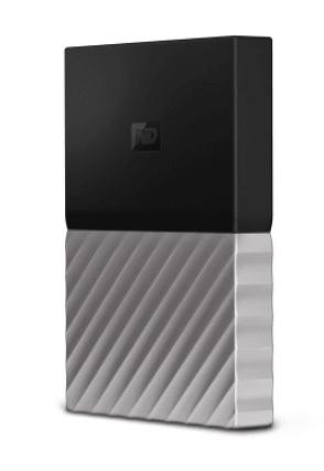 Western Digital My Passport Ultra 2TB external hard drive 2000 GB Black, Grey