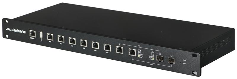 Ubiquiti Networks EdgeRouter PRO, 8x Gigabit Routing Ports, 2GB RAM, 4GB Flash