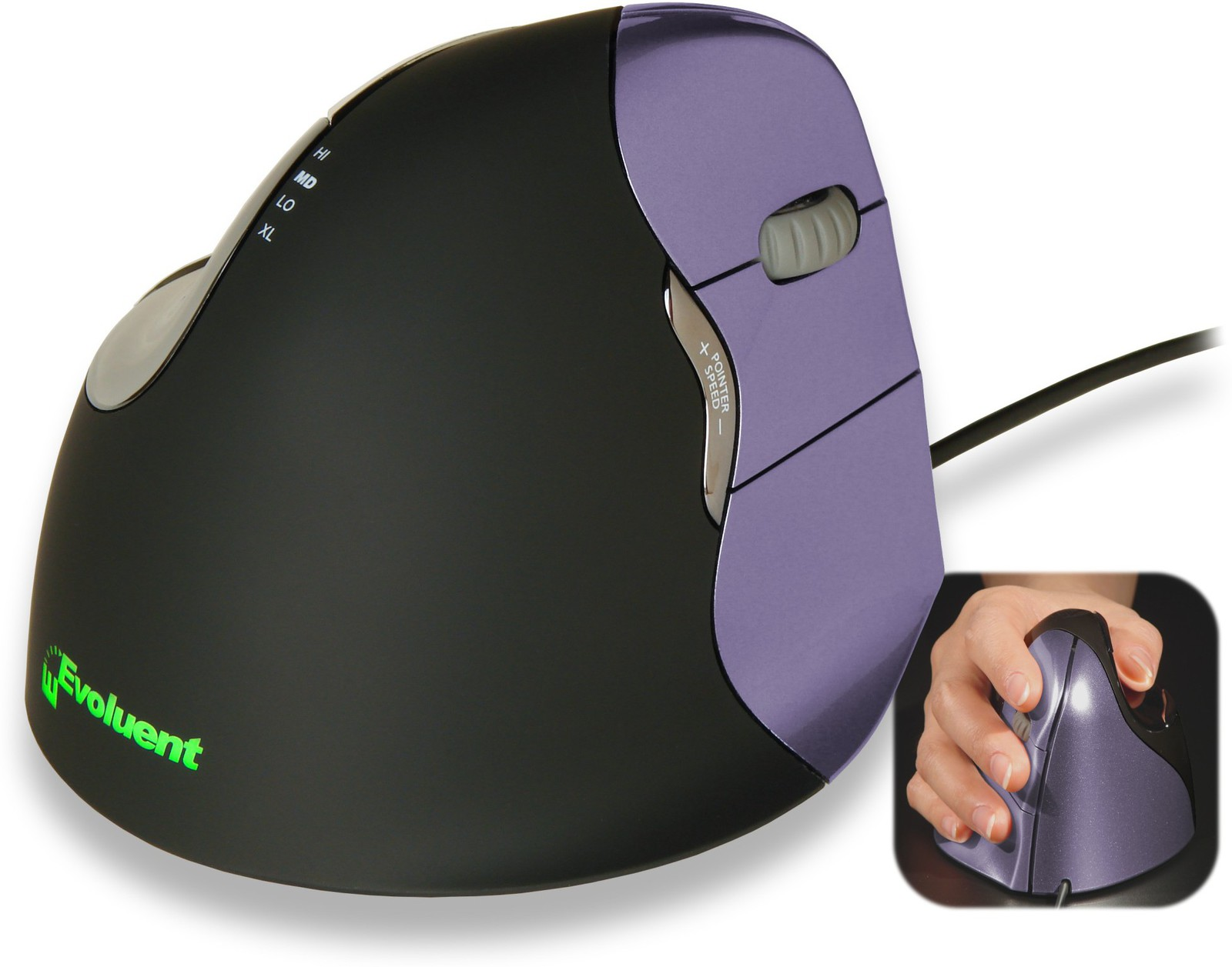 Evoluent Vertical Mouse4 Small Right