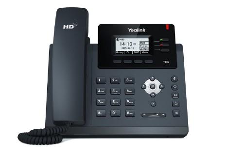 Yealink T40G IP phone Black Wired handset LCD 3 lines