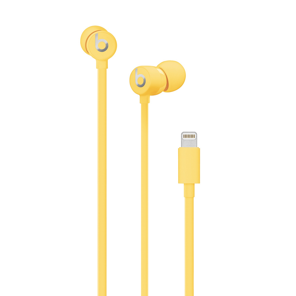Apple urBeats3 mobile headset Binaural In-ear Yellow Wired