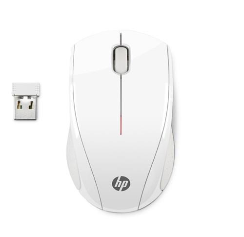 HP X3000 mice RF Wireless Optical 1200 DPI Ambidextrous White