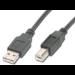 ASSMANN Electronic 1.8m USB 2.0 cable USB 1,8 m USB A USB B Negro