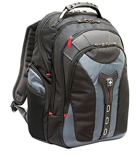 "Wenger/SwissGear 600639 17"" Backpack Black,Grey notebook case"