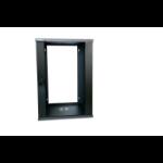 Lanview LVR242515 rack cabinet 15U Wall mounted rack Black