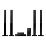 Samsung HT-J4550 5.1 500W 3D Black home cinema system