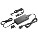 HP 90W Slim Combo Adapter w/ USB adaptador e inversor de corriente Auto/Interior Negro