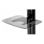 Peerless ACC-GS1 multimedia cart accessory Shelf Black