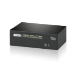 ATEN VS0102 2-Port VGA Splitter with Audio, up to 1920x1440, 450MHz Video Bandwidth'