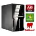 SPIREPC Spire PC, Micro ATX, AMD 6400K, 4GB, 500GB, KB & Mouse, Card Reader, USB3, Wireless, Bullguard, W7 P