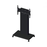 "Unicol RH100 flat panel floorstand 177.8 cm (70"") Portable flat panel floor stand Black"