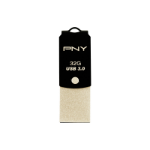 PNY USB Type-C to Type A UCD10 32GB 32GB USB 3.0 (3.1 Gen 1) Type-A/Type-C Black,Gold USB flash drive