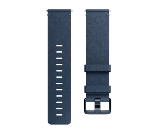 Fitbit Versa Horween L Band Blue Leather