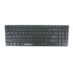 Seal Shield Cleanwipe RF Wireless QWERTY US International Black keyboard