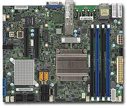 Supermicro X10SDV-4C-7TP4F server/workstation motherboard BGA 1667 Flex-ATX