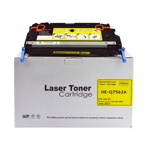 Remanufactured HP Q7562A (314A) Yellow Toner Cartridge