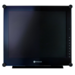 AG Neovo SX-17P 17 Inch TFT, 1280 x 1024, DVI - Black Bezel + Built-in Speakers Black CCTV Monitor