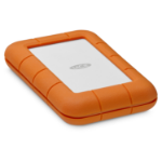 LaCie Rugged Secure external hard drive 2000 GB Orange,White