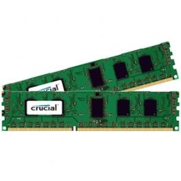 Crucial CT2K51264BD160BJ módulo de memoria 8 GB 2 x 4 GB DDR3 1600 MHz