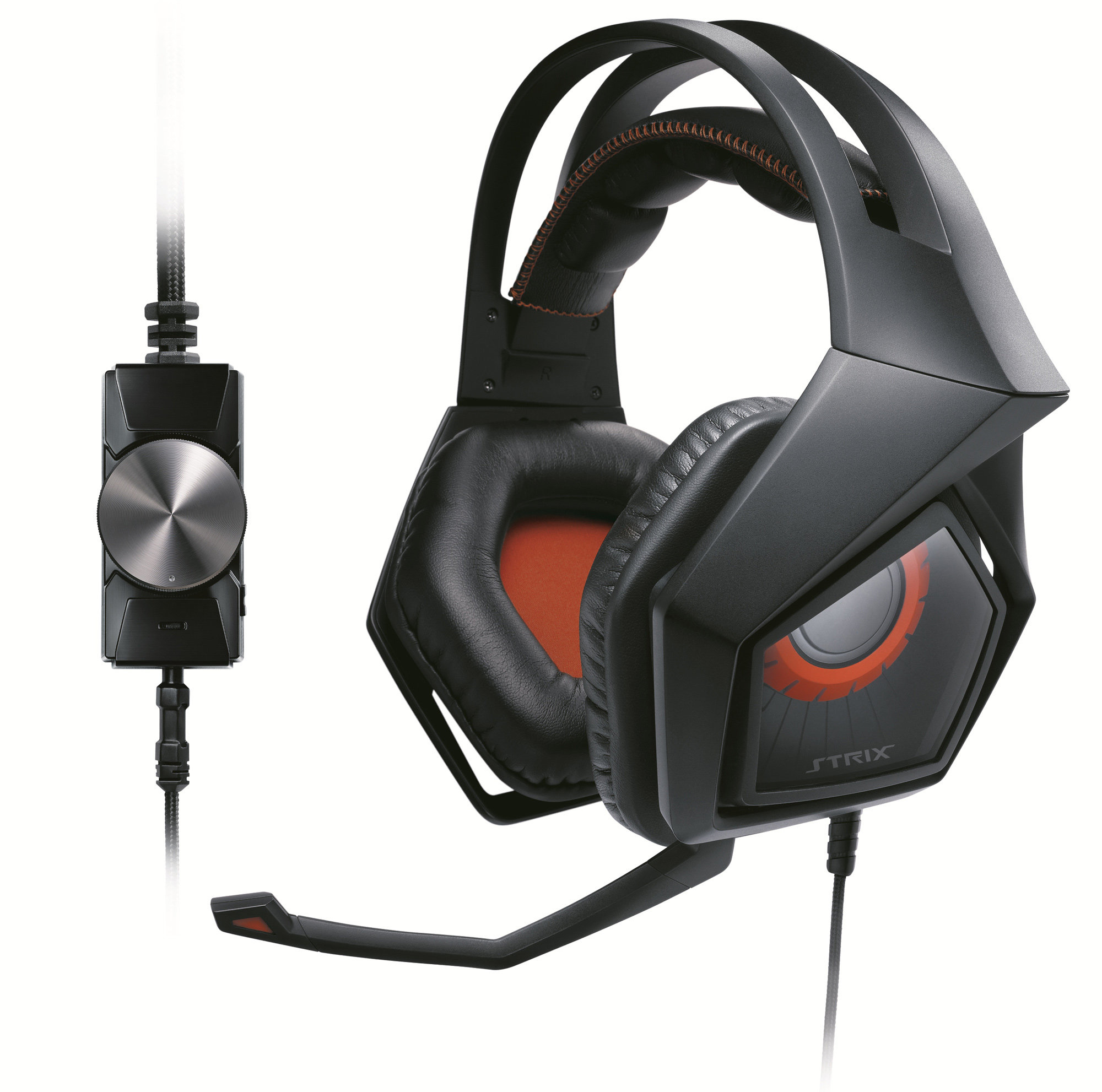 ASUS Strix Pro Binaural Head-band Black,Orange headset