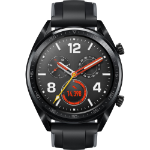 "Huawei Watch GT smartwatch Black AMOLED 3.53 cm (1.39"") GPS (satellite)"