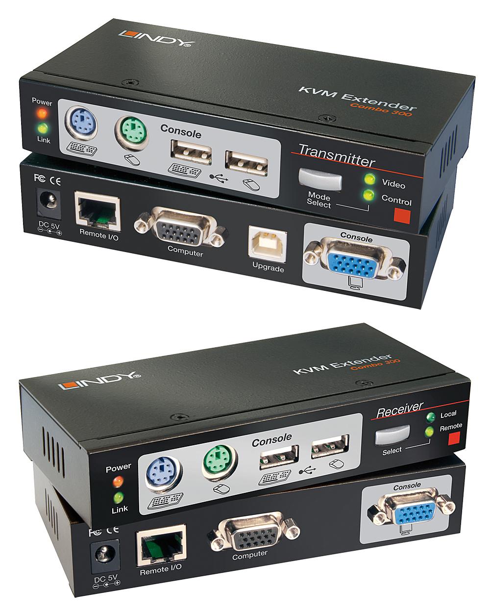 Lindy 39378 Black KVM switch