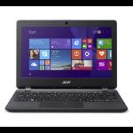 """Acer Aspire E 11 ES1-111M-C7DE 2.16GHz N2840 11.6"""" 1366 x 768Pixeles Negro Portátil dir"""