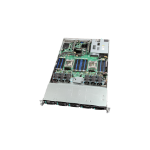 "Intel VRN2208WAF6 Intel® C612 LGA 2011-v3 Custom 16.7"" x 17"" Black, Silver server barebone"