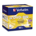 Verbatim DataLifePlus DVD+RW 4.7 GB 10 pcs