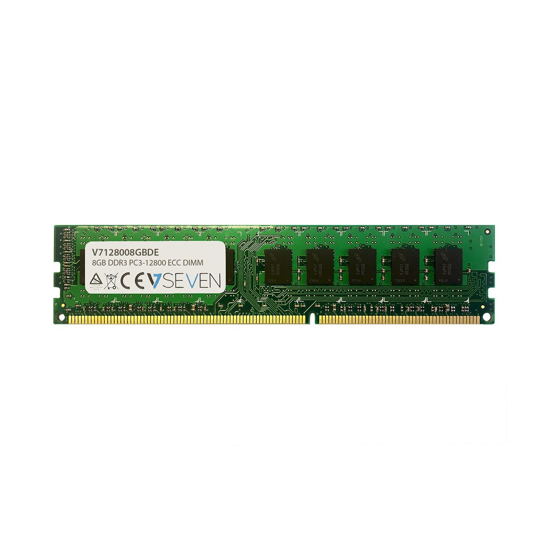 V7 8GB DDR3 PC3-12800 - 1600MHz ECC DIMM módulo de memoria - V7128008GBDE