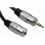 Target NL2TTMF-03 audio cable 3 m 3.5mm TRS Silver