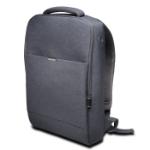 """Kensington LM150 15.6'' notebook case 39.6 cm (15.6"""") Backpack case Grey"""