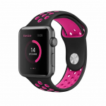 BeHello BEHPRMSWS003 smartwatch accessory Band Black,Pink Silicone