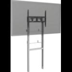 "Vision VFM-F 110"" Portable flat panel floor stand Grey,White flat panel floorstand"