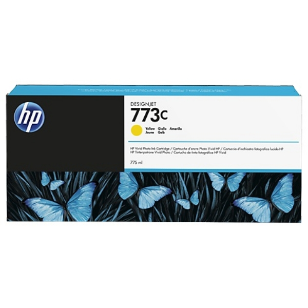HP C1Q40A (773C) Ink cartridge yellow, 775ml