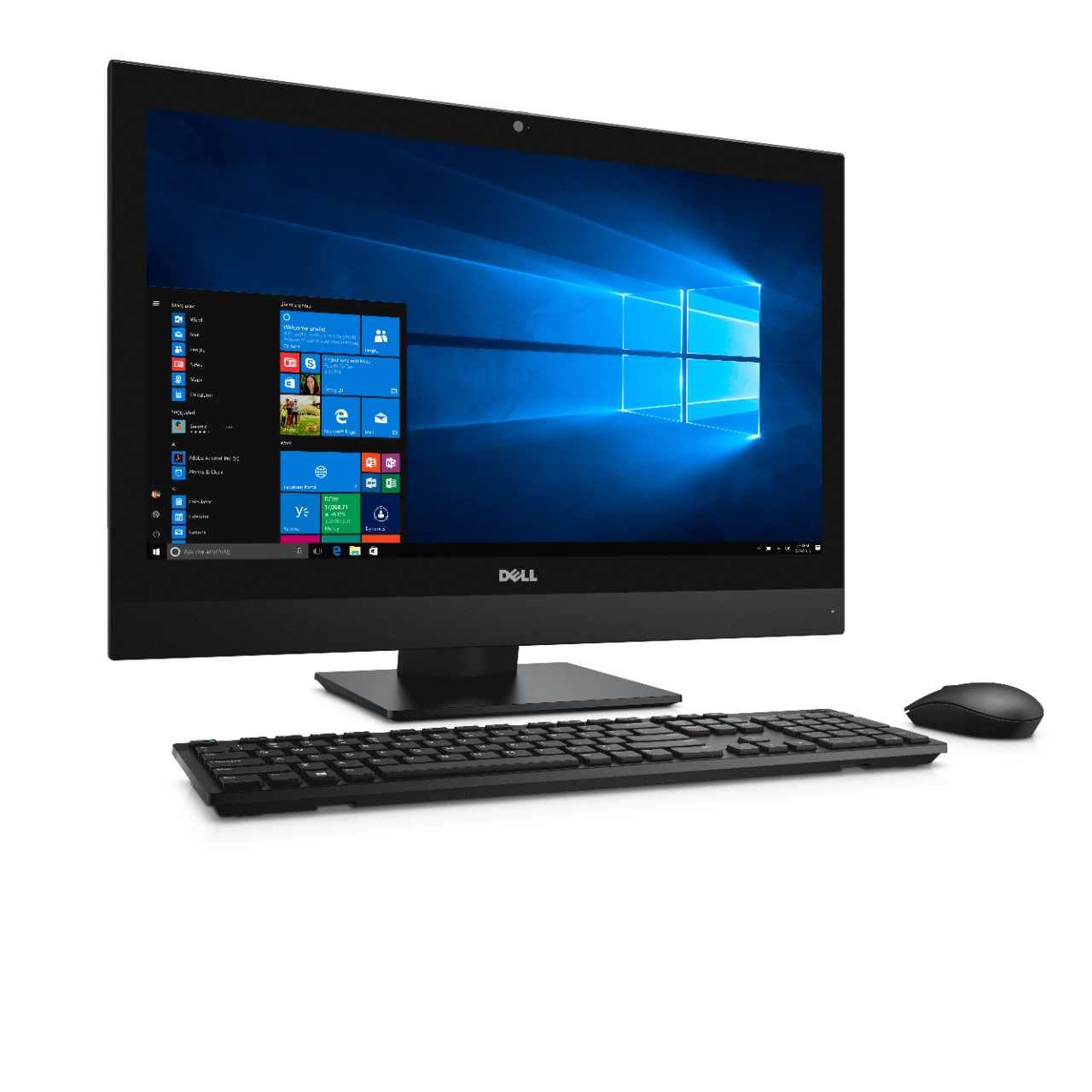 """DELL OptiPlex 7450 3.4GHz i5-7500 23.8"""" 1920 x 1080pixels Touchscreen Black All-in-One PC"""