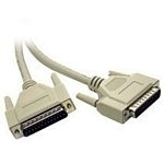 C2G 5m IEEE-1284 DB25 M/M Cable printer cable Grey