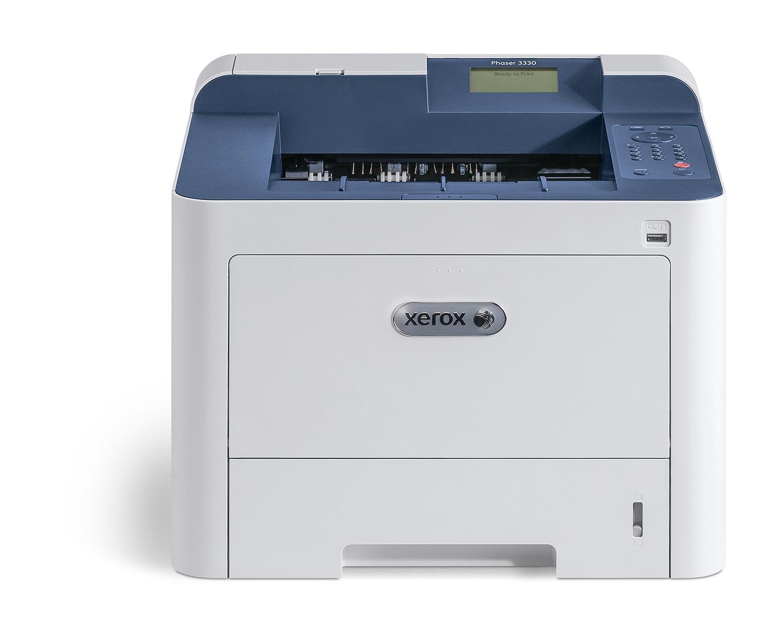 Xerox Phaser 3330 A4 40 ppm draadloze dubbelzijdige printer PS3 PCL5e/6 2 laden totaal 300 vel