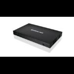 iogear GCS1816HKITU KVM switch Rack mounting Black