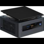 Intel NUC NUC8i3BEH i3-8109U 3 GHz UCFF Black BGA 1528