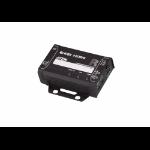 Aten VE811 AV extender AV transmitter & receiver Black