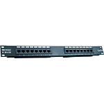 Trendnet 16-port Cat5/5e Unshielded Patch Panel patch panel
