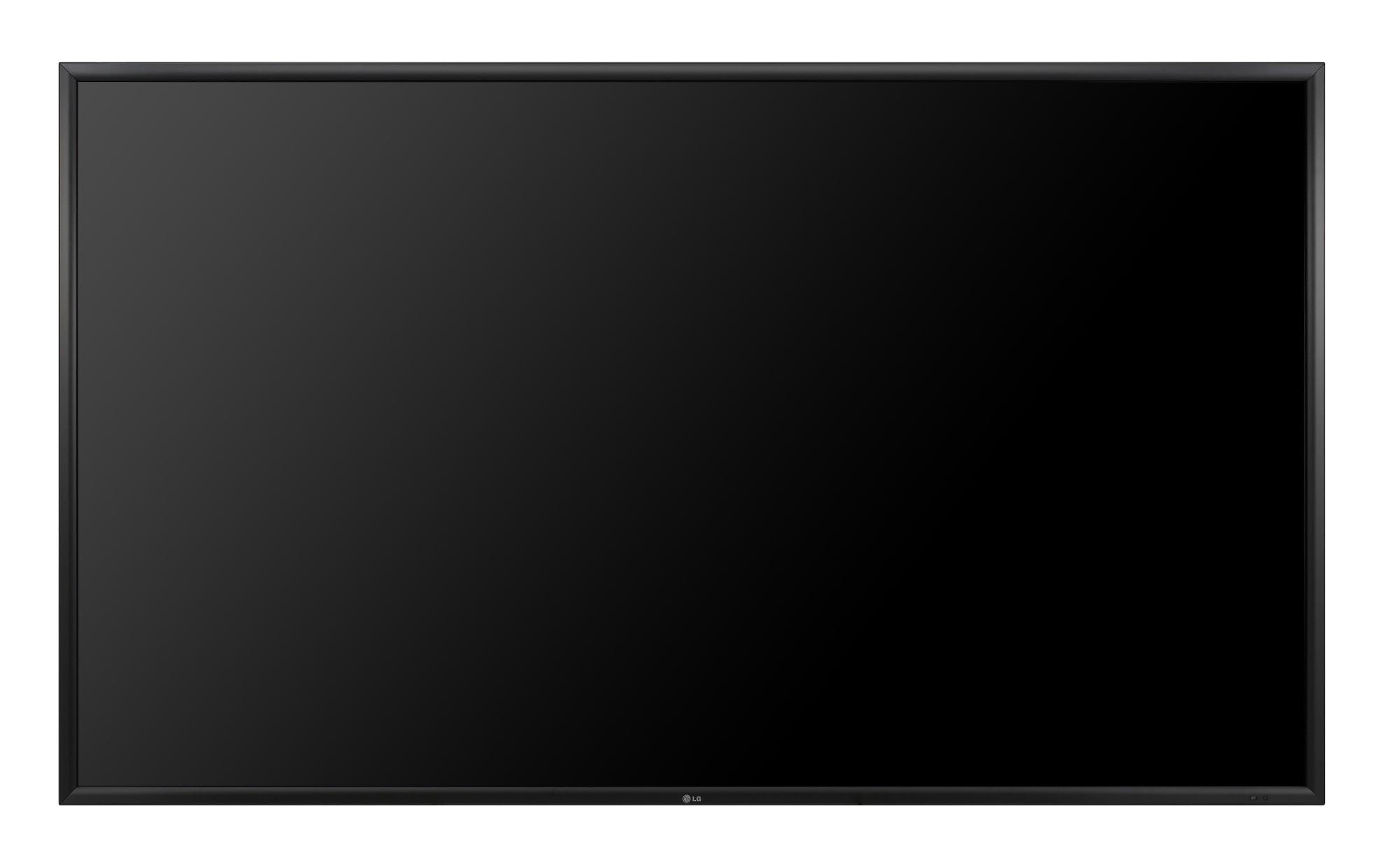 "LG 84WS70MS Digital signage flat panel 84"" LED 4K Ultra HD Black signage display"