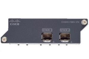 Cisco C2960X-FIBER-STK network switch module 10 Gigabit Ethernet