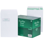 Basildon Envelopes Pocket Peel and Seal Window 120gsm White C4 [Pack 250]