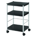 Fast Paper Mobile 3 Shelf Trolley Small DD