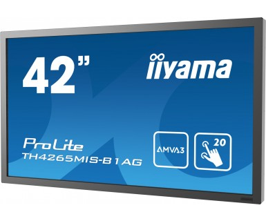 "iiyama ProLite TH4265MIS-B1AG 42"" 1920 x 1080pixels Multi-touch Black touch screen monitor"